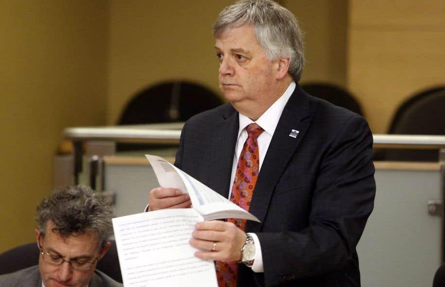Le directeur parlementaire du budget, Jean-Denis Fréchette