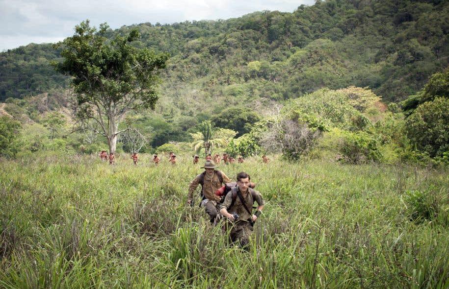 Charlie Hunnam et Tom Holland dans «The Lost City of Z»