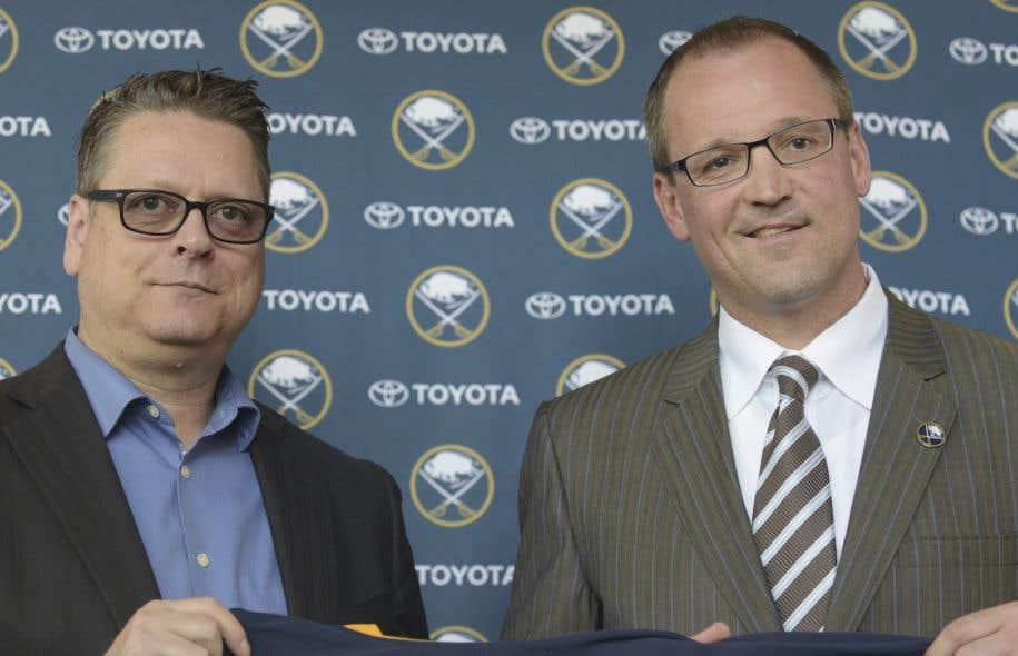 Les Sabres congédient Tim Murray et Dan Bylsma