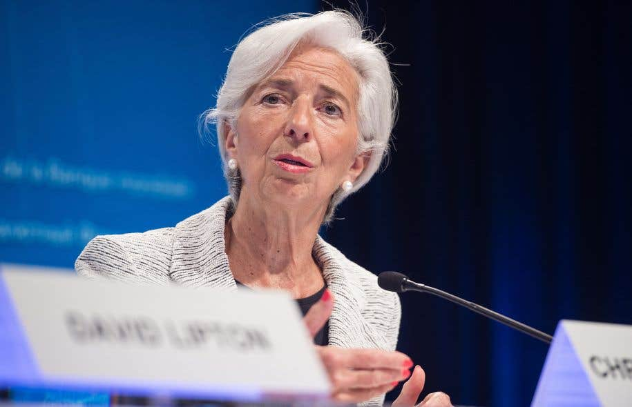 La présidente du Fonds monétaire international, Christine Lagarde