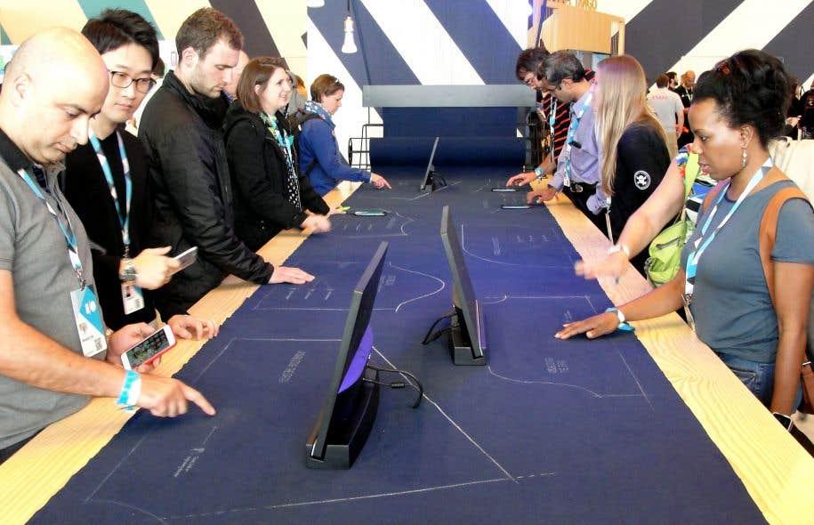 Lors de la conférence annuelle des développeurs de Google en 2015, le tissu interactif développé par le géant du numérique et Levi's a été dévoilé.