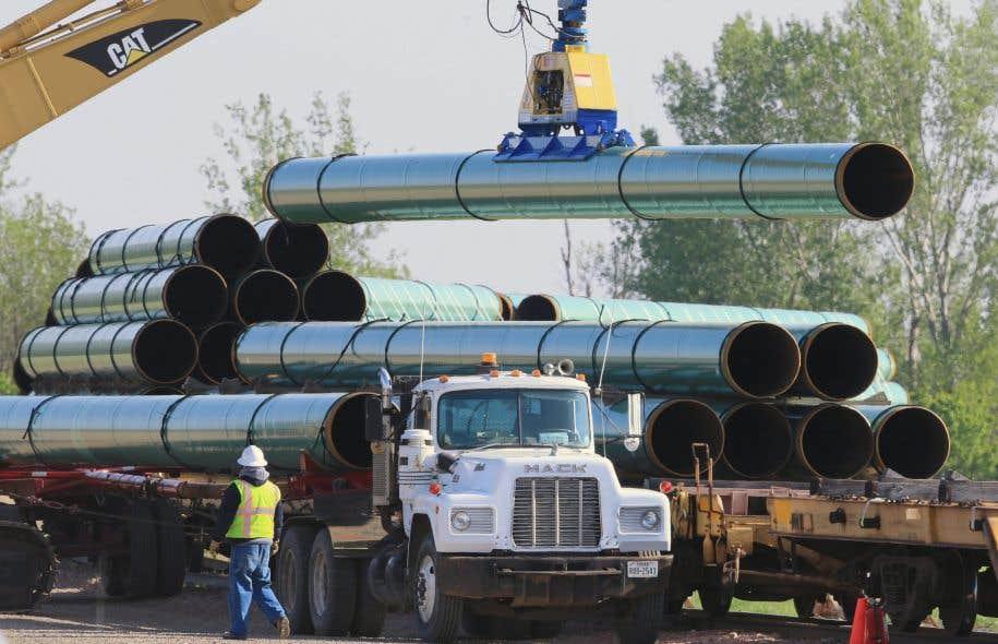 Pour le moment, le projet de pipeline Énergie Est, le plus important du genre en Amérique du Nord, est évalué sous l'égide de l'ONE.