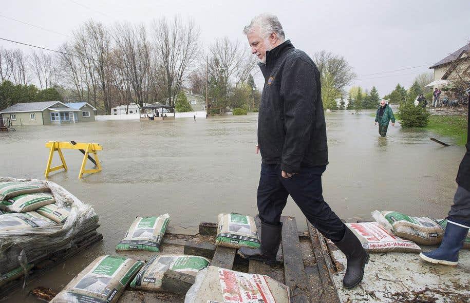Le premier ministre, qui s'est rendu la semaine dernière sur le terrain constater l'ampleur de la situation.