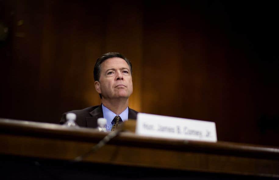 L'ex-directeur du FBI James Comey