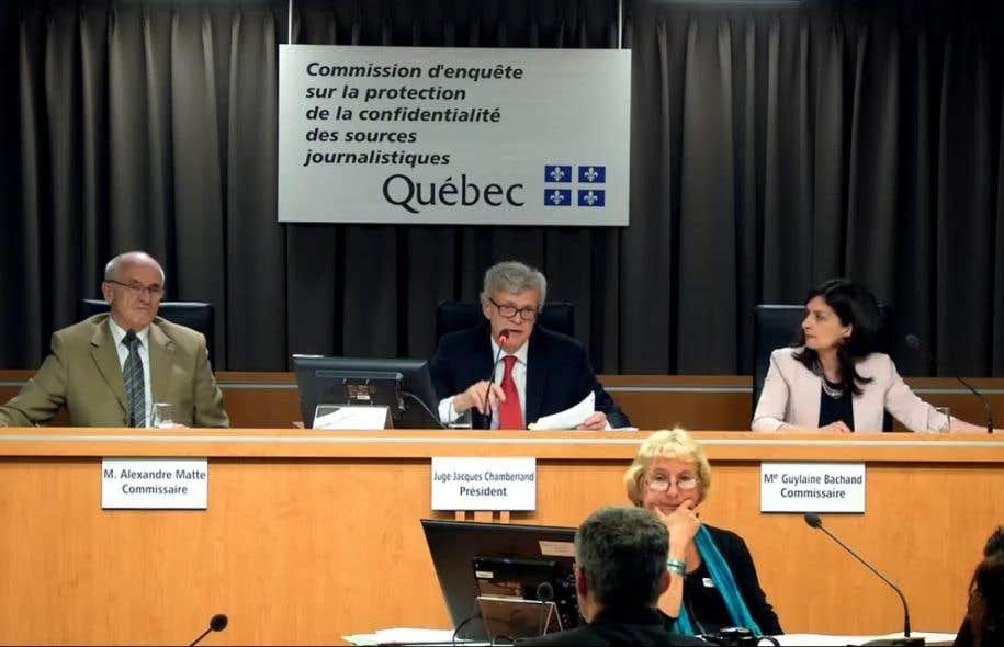 Jacques Chamberland préside laCommission d'enquête sur les sources journalistiques.