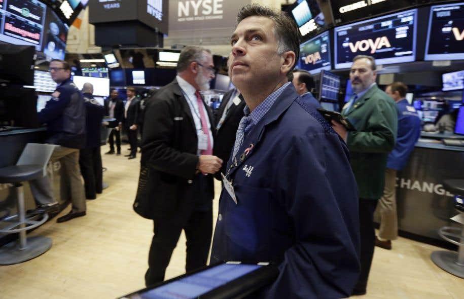 La Bourse de New York avait entamé une forte progression après l'élection de Donald Trump en novembre, dans l'espoir de la mise en place de son programme économique.