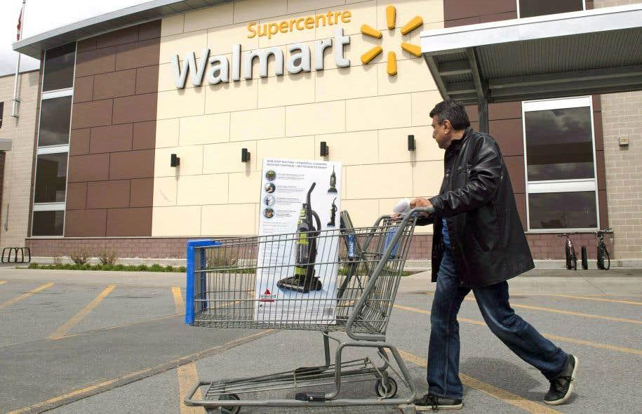 Walmart, le géant de la distribution, a comptabilisé une fréquentation de ses magasins en hausse de 1,5% au premier trimestre.