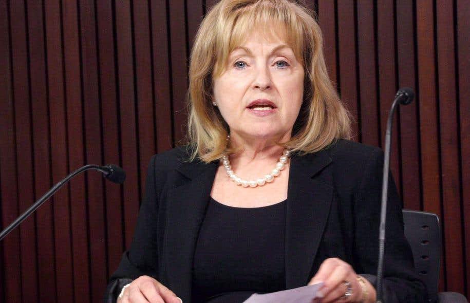 La commissaire aux langues officielles, Madeleine Meilleur