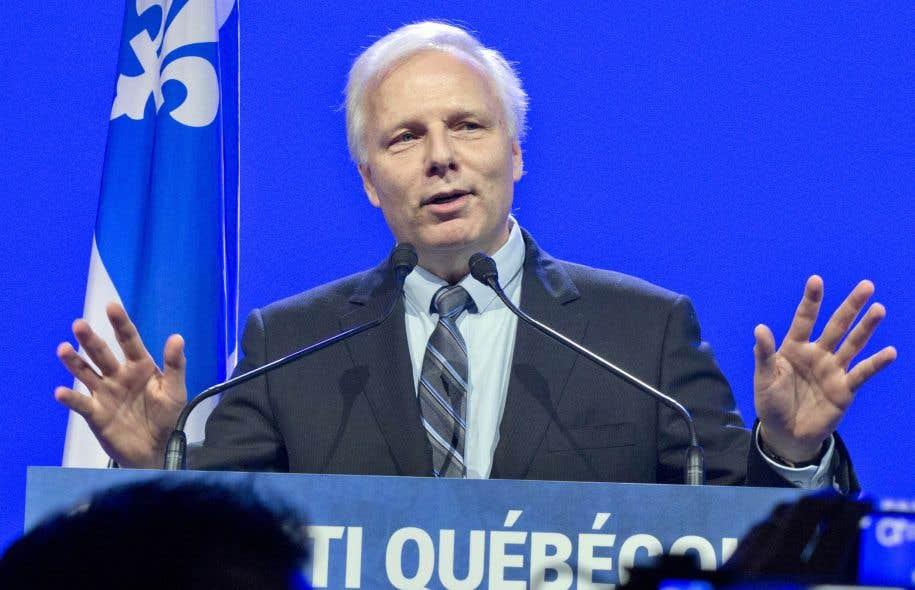 Le chef du Parti québécois (PQ), Jean-François Lisée