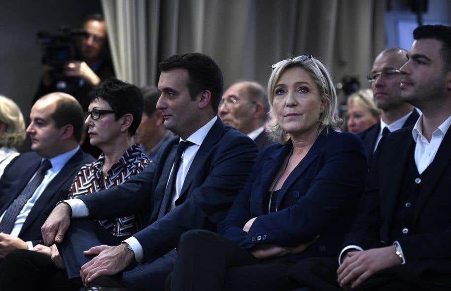 Marine Le Pen: Le FN ne deviendra pas