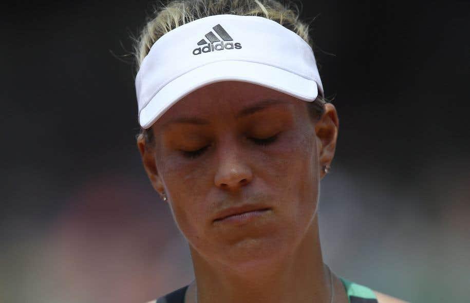Roland-Garros: la N.1 mondiale Angelique Kerber éliminée au premier tour
