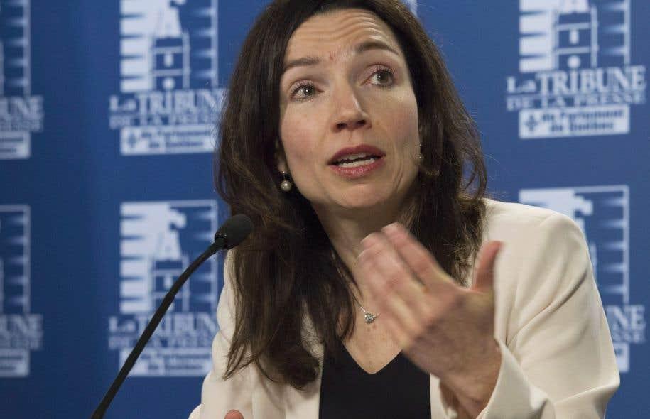 Le Canada doit ajouter sa voix aux autres pays qui ont déjà reconnu l'État palestinien, estime la chef bloquiste Martine Ouellet.