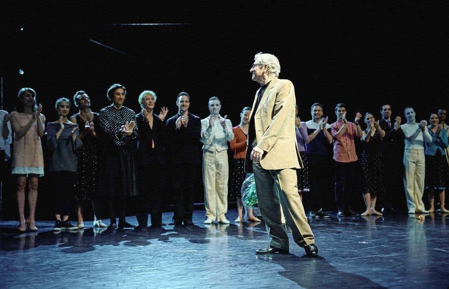 Un hommage a été rendu à Gradimir Pankov lors de la première de la soirée Kylián, le 25mai.