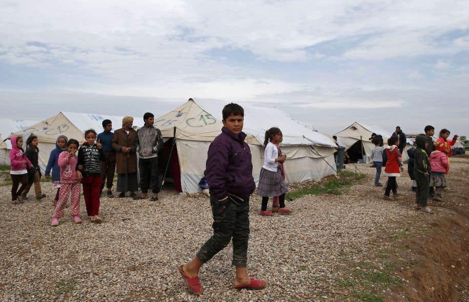 Intoxication alimentaire dans un camp de réfugiés — Irak