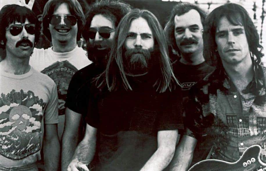Le groupe The Grateful Dead