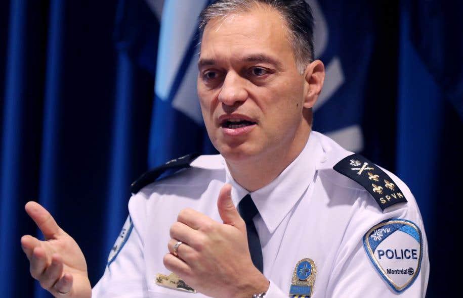 Le directeur du Service de police de la ville de Montréal, Philippe Pichet