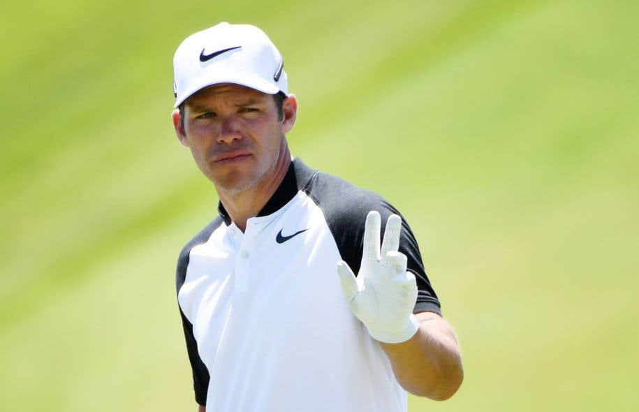 US Open - 3e tour: Harman seul en tête