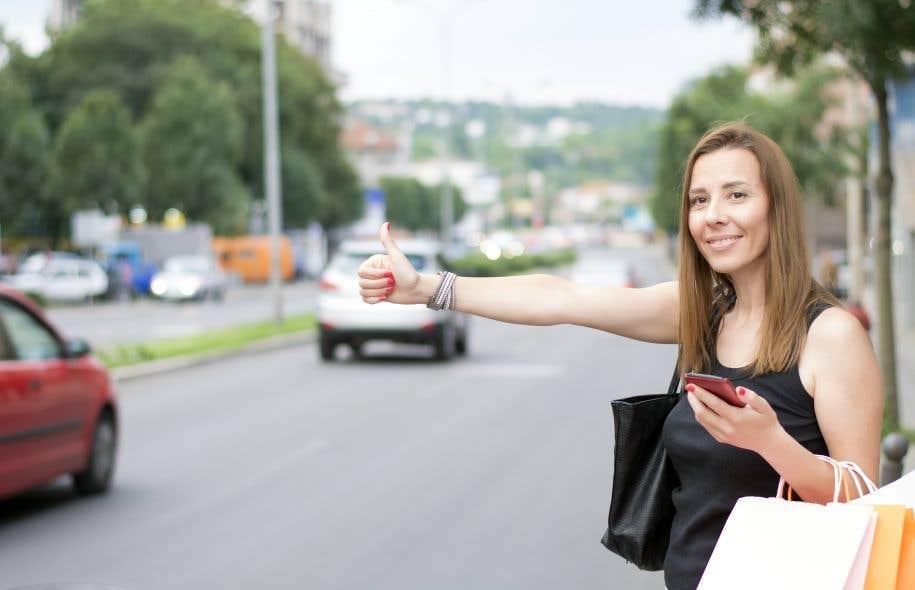 Contrairement à 20 ans auparavant, l'auto-stop n'est presque plus utilisé pour les déplacements quotidiens dans les grandes villes.