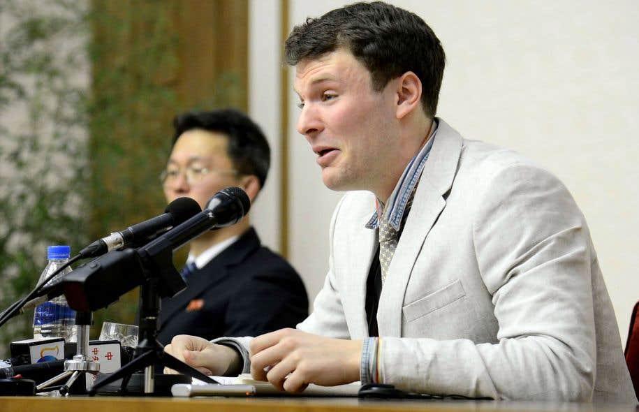 Corée du Nord. L'étudiant américain dans le coma est décédé