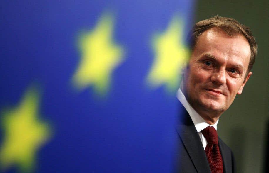 Le président du Conseil européen, Donald Tusk