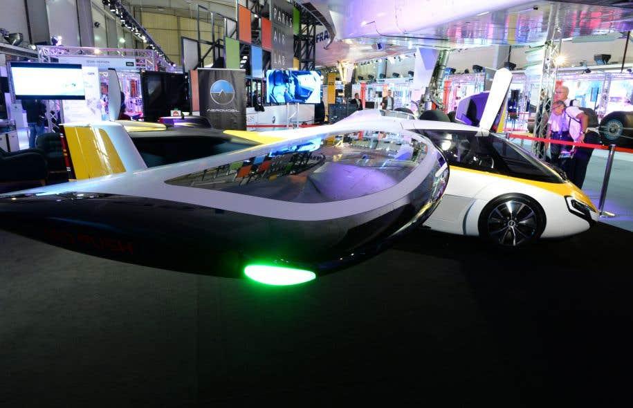 Les voitures volantes ont un avenir mais lequel le devoir for Salon de l emploi place de la concorde