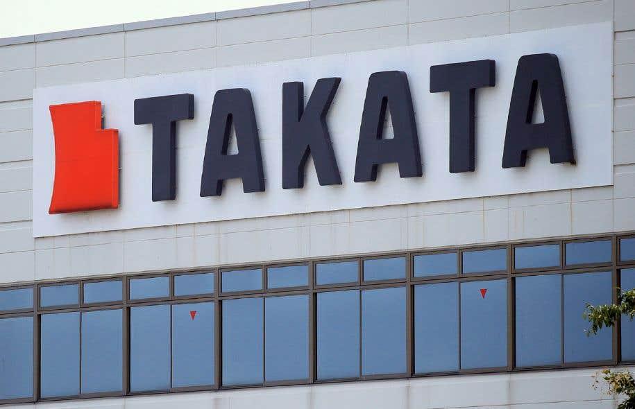 Scandale d'airbags défectueux: Takata annonce avoir déposé le bilan