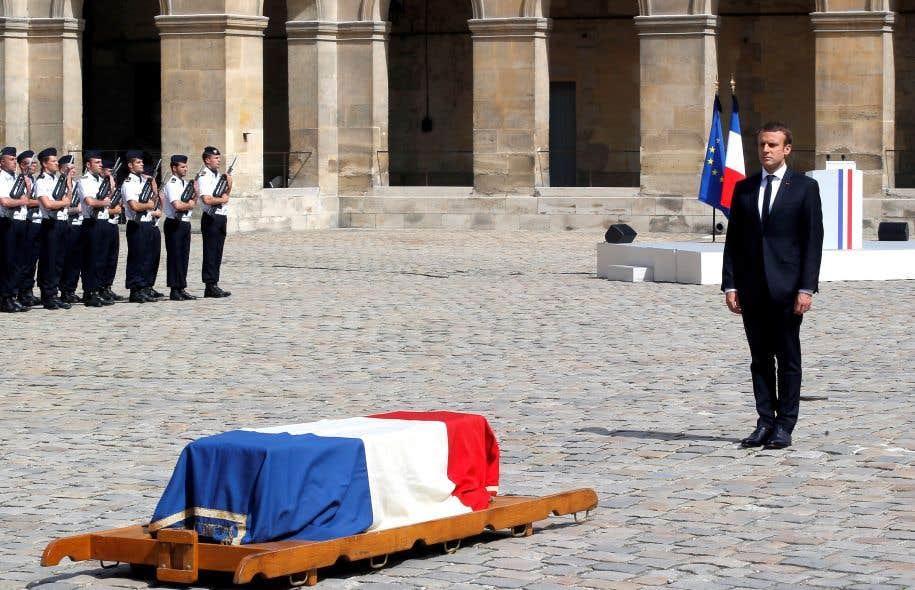 Le président Macron a ordonné la tenue d'obsèques officielles avec honneurs militaires pour l'ex-militante féministe.