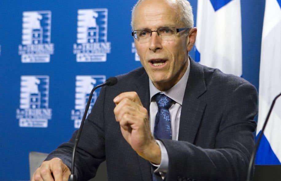 François Boulay, maire de la municipalité de Ristigouche Sud-Est