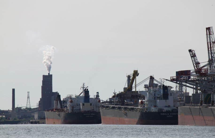 Le port de Québec est situé en territoire fédéral.