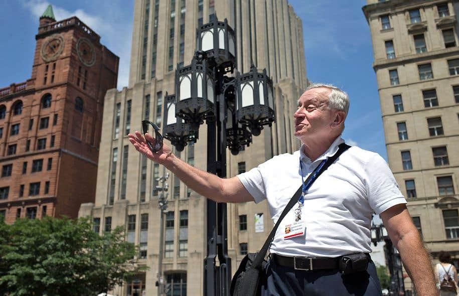 George, guide touristique dans le Vieux-Montréal