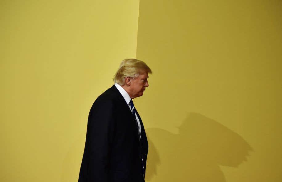 Le président américain a continué de défendre son fils bec et ongles tout en minimisant les impacts de l'enquête sur la possible ingérence russe, qu'il qualifie de «chasse aux sorcières».