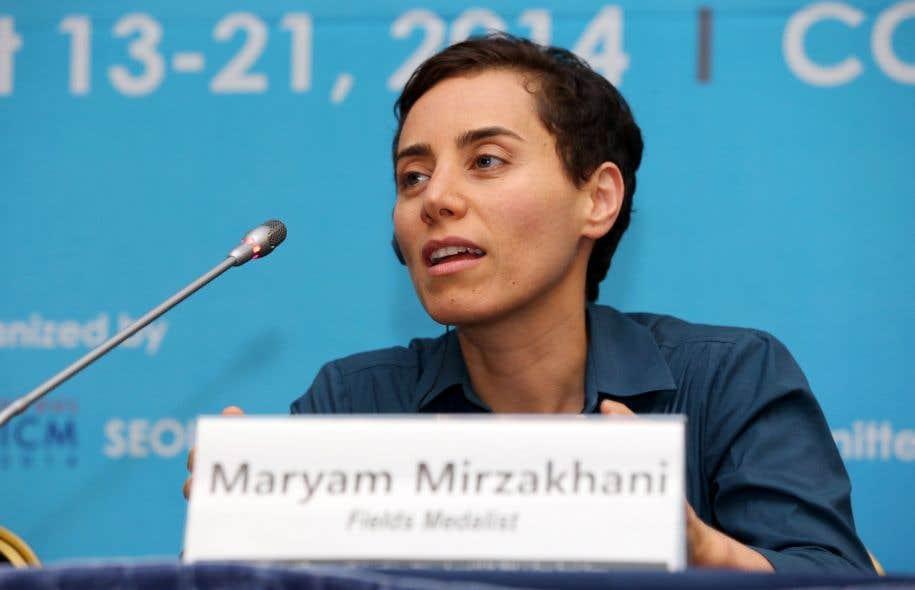 Maryam Mirzakhani était devenue en 2014 la première femme lauréate de la plus prestigieuse récompense en mathématiques, la médaille Fields, considérée comme le «prix Nobel» de la discipline.