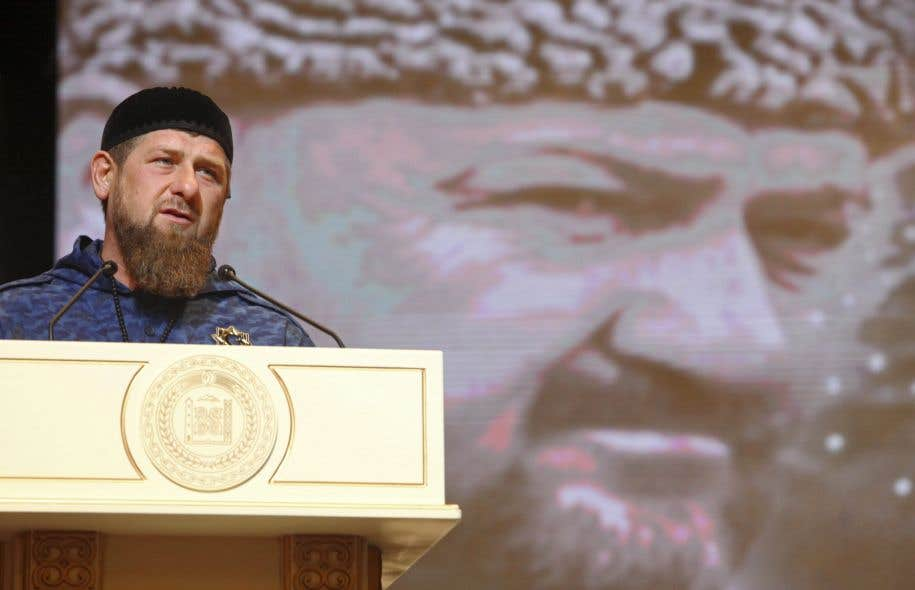 L'actuel leader tchétchène, Ramzan Kadyrov