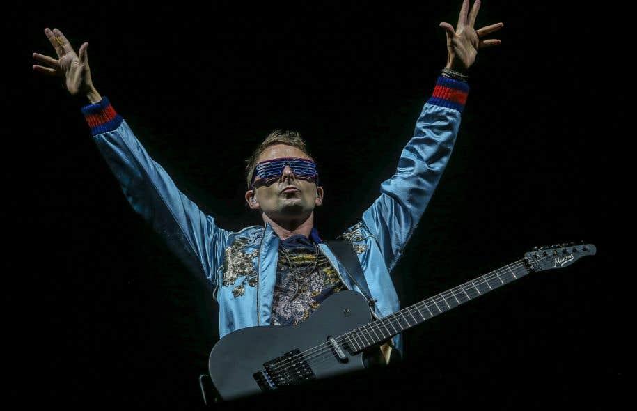 Le leader du groupe Muse, Matt Bellamy