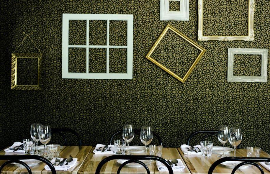 Les trois partenaires de l'Épicurieux ont créé un restaurant sans prétention, avec une cuisine créative élaborée et un service pointu et courtois.