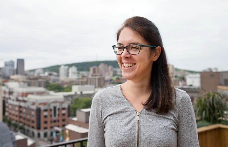 Passionnée de plein air, Claire Deguelle a lancé Hikster, une application répertoriant les 17000 kilomètres de sentiers de randonnée et de raquette au Québec.