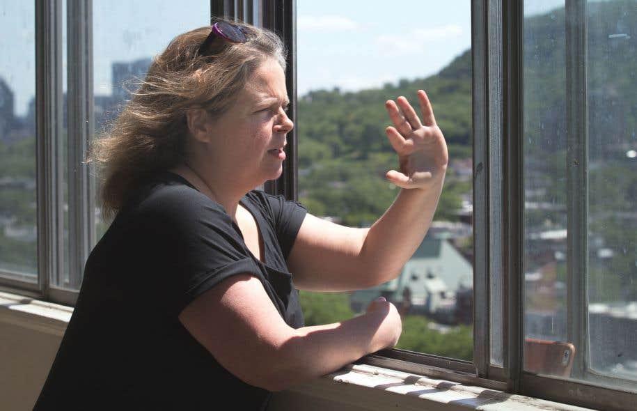 Peu importe la saison, Patricia Bergeron espère qu'un jour, les autorités municipales lui permettront de montrer la ville autrement.