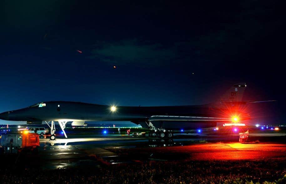 Les Etats-Unis s'entraînent à intercepter des missiles