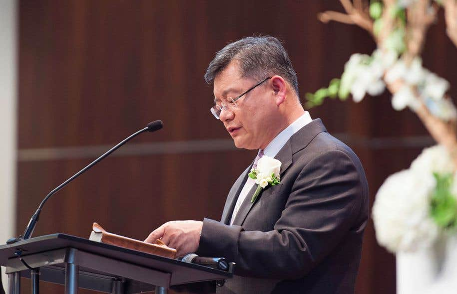Le pasteurHyeon Soo Lim, le 3 mars 2015