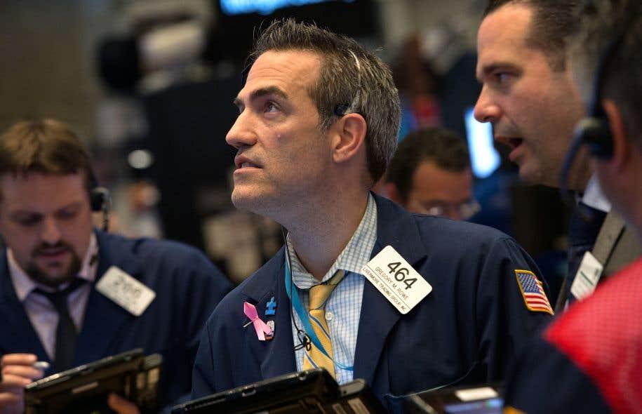 La Bourse de New York a enchaîné trois séances consécutives de baisse en réaction au face à face entre les États-Unis et la Corée du Nord.
