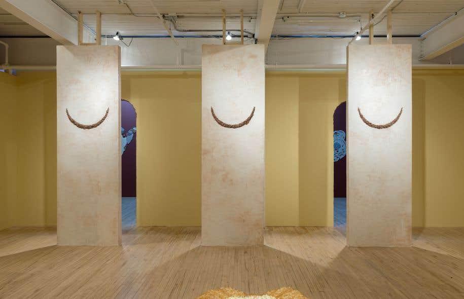 L'exposition «Le Golem son amant» de Beth Stuart à la galerie Battat Contemporary, qui a annoncé ses intentions de cesser ses activités d'ici la fin de l'année.