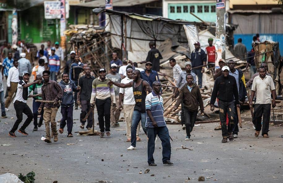 De violents affrontements ont opposé dimanche dans le bidonville de Mathare à Nairobi des membres de l'ethnie kikuyu et des partisans luo.