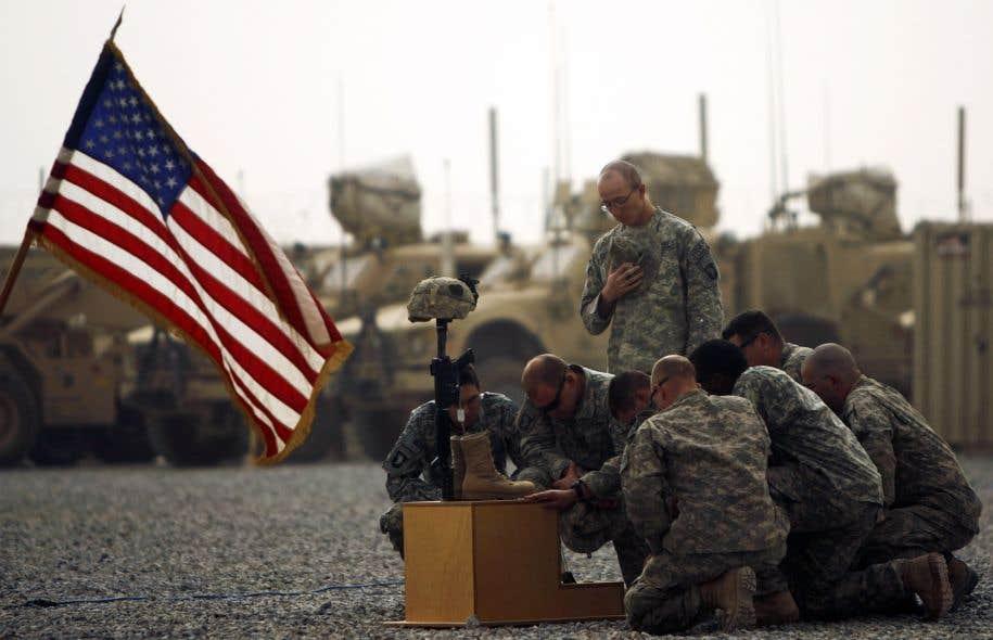 Plus de 8000 soldats américains sont actuellement en Afghanistan.