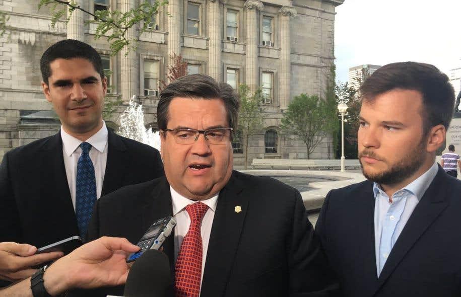 Hadrien Parizeau, petit-fils de l'ancien premier ministre du Québec Jacques Parizeau, sera candidat pour l'Équipe Denis Coderre.