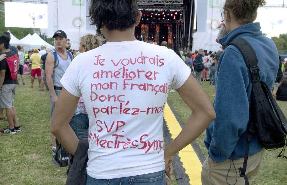 Le Québec est la seule société d'immigration où la pérennité de la langue de la majorité est fragilisée par cette immigration.