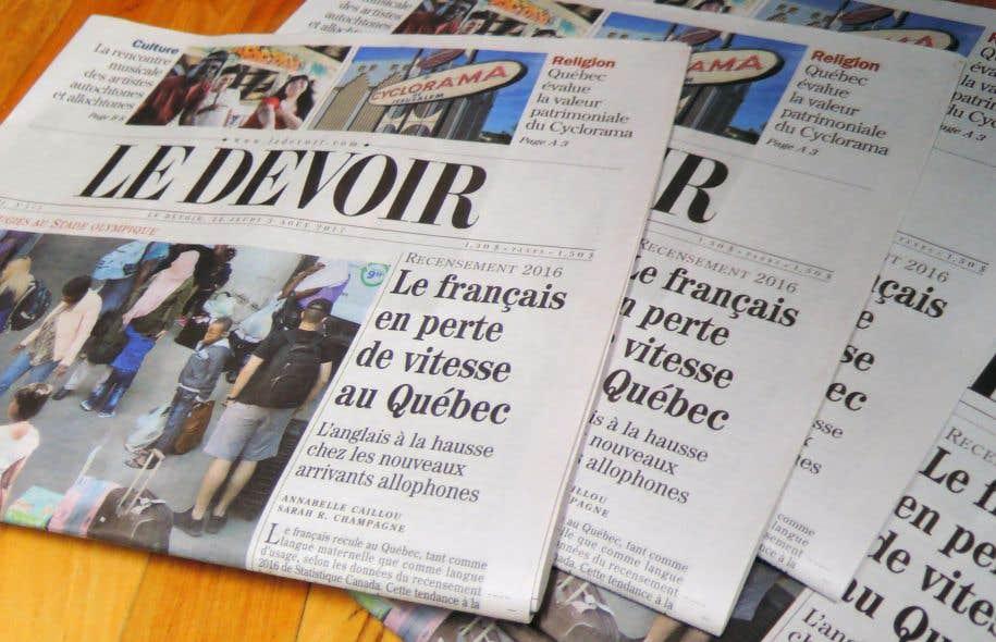 «L'indicateur le plus pertinent pour la vitalité du français au Québec se trouve à être la langue d'usage public, celle que les gens utilisent pour communiquer avec les autres membres de la société», estime l'auteure.