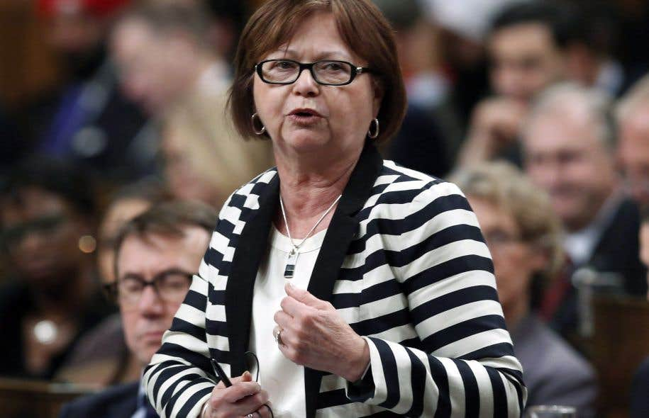 La ministre fédérale des Services publics, Judy Foote