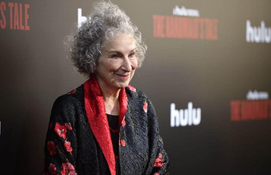 La romancière et poétesse Margaret Atwood