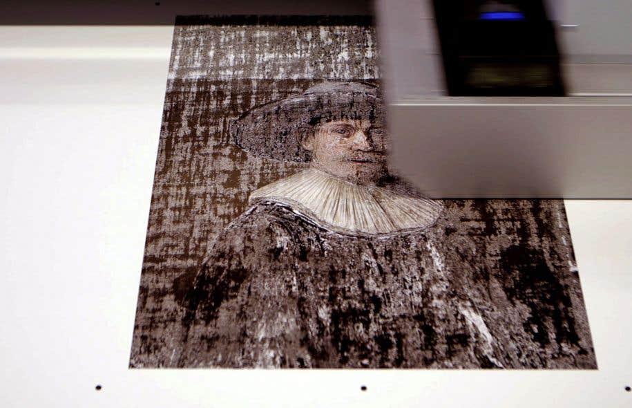 Le portrait «The Next Rembrandt» a été réalisé par un ordinateur à partir des œuvres du peintre.