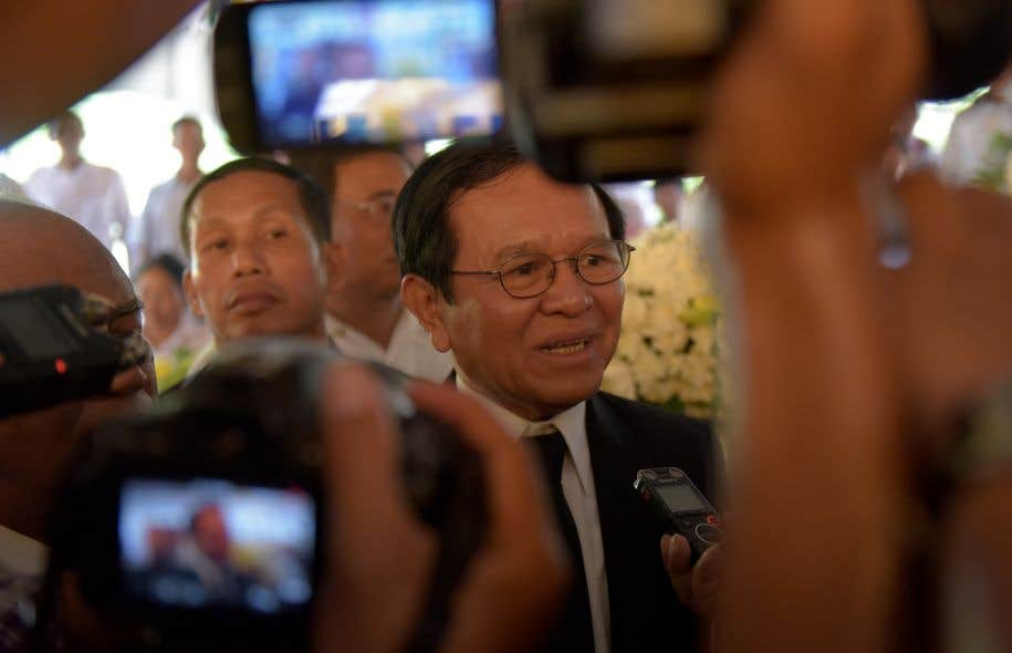 Cambodge : arrestation du chef de l'opposition